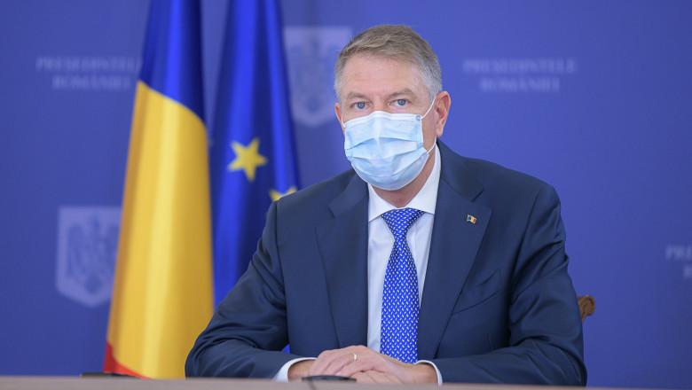 Iohannis confirmă: Va merge la Bruxelles pentru a susține introducerea certificatului de vaccinare