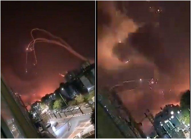 "Israelul, sub o ""ploaie"" de rachete lansate din  Fâșia Gaza"