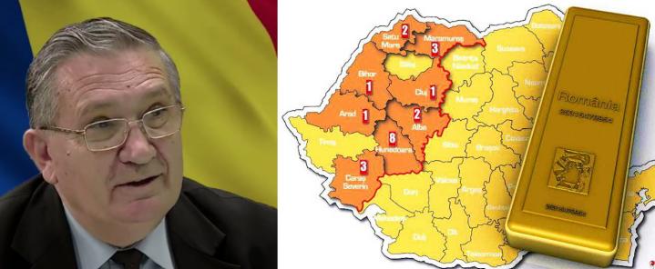 Nicolae Roman:Multinaționalele au scos din țară echivalentul a 46 000 tone de aur