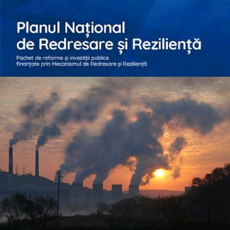 TREI SFERTURI din proiectele finanțate de PNRR POLUEAZĂ mediul