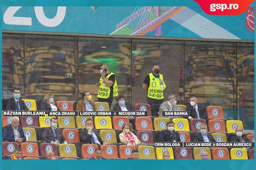 Arena Națională. Șeful DNA, politicienii și FRF au stat la VIP!