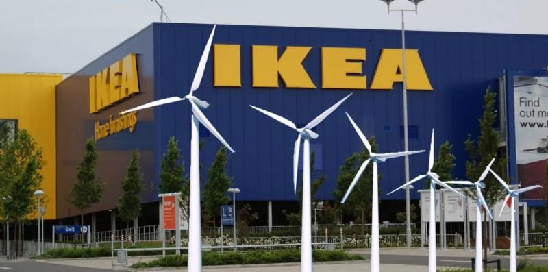 IKEA începe să vândă energie electrică în magazine, către persoanele fizice