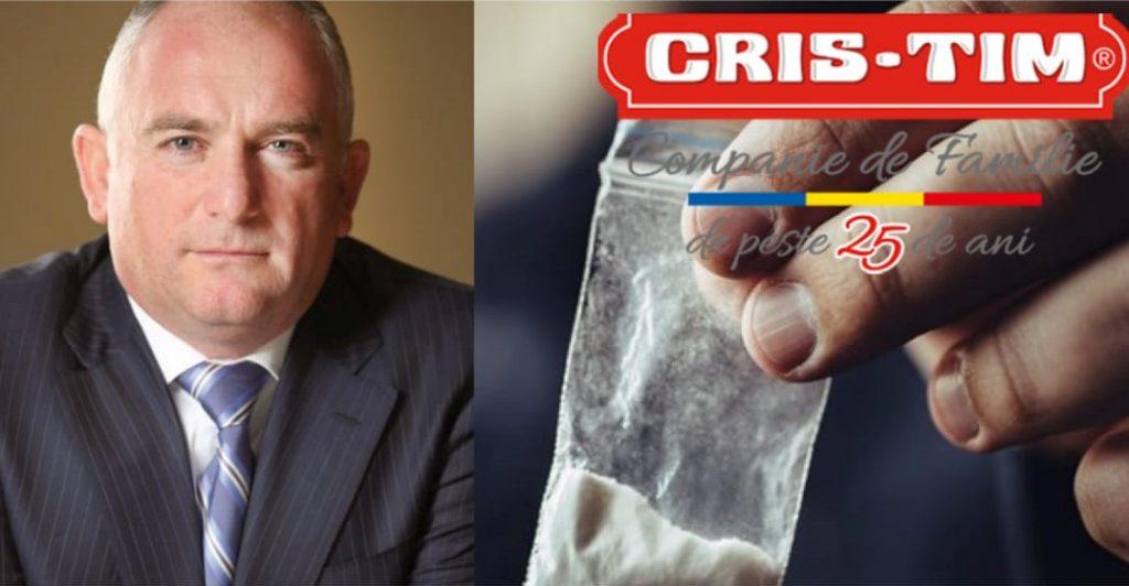 Fiul patronului Cris-Tim, arestat pentru trafic de droguri