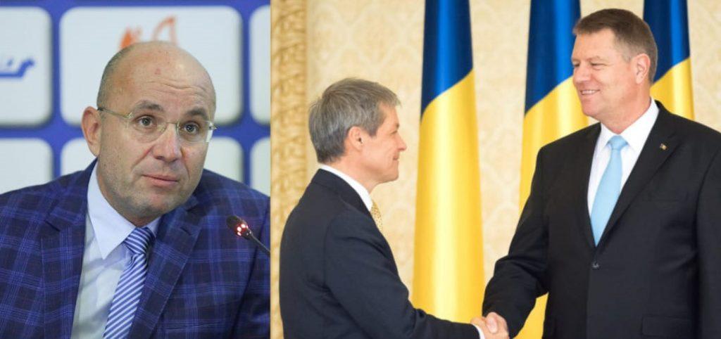 """Cozmin Gușă: Iohannis a venit în țară cu """"mutarea în plic"""" legată de Cioloș"""