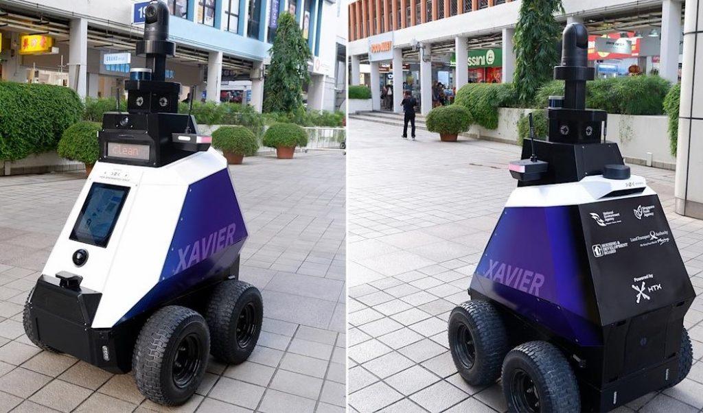 """Singapore-Roboții de monitorizare care patrulează pe străzi limitează """"dreptul la viața privată"""""""